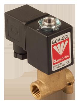 GEM-A | Large orifice 3W NC, NO pressure & vacuum