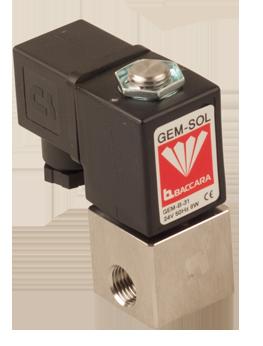GEM-A   Large orifice 2W NC, NO pressure & vacuum