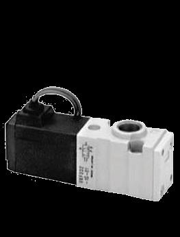 שסתום 3/2 מופעל חשמל-קפיץ | VKF